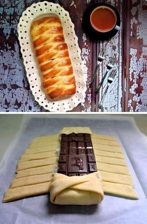 Cuisine pain au chocolat g ant for Abonnement cuisine sympa